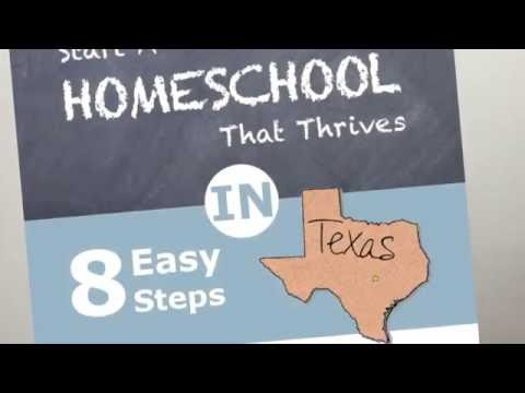 How to Homeschool in Texas and Texas Homeschool Laws