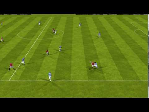 FIFA 14 Android - Manchester City VS Manchester Utd