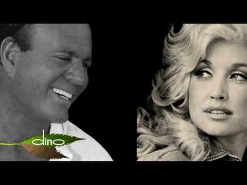 JULIO IGLESIAS & DOLLY PARTON - WHEN YOU TELL ME THAT YOU LOVE ME (Lyrics)