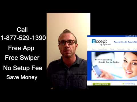 accepting credit cards on cell phone - New Service, Free App And Lower Rates!