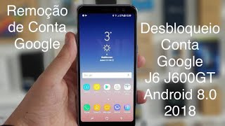 REMOVE GOOGLE ACCOUNT ON SAMSUNG GALAXY J6 J600F J600FN