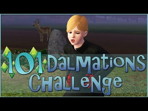Sims 3    101 Dalmatians Challenge: An Extremely Over-Excitable Deer - Episode #22