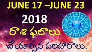 Makara Rasi Weekly JUNE 17 - 23 Weekly Horoscope Astrology