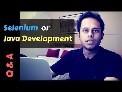 QnA Friday 36 - Selenium or Java Development ... ?
