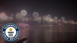 Longest chain of fireworks - Guinness World Records