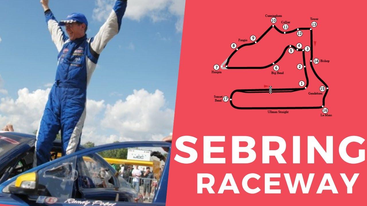 Turn-by-Turn...a Lap of SEBRING RACEWAY with RANDY POBST