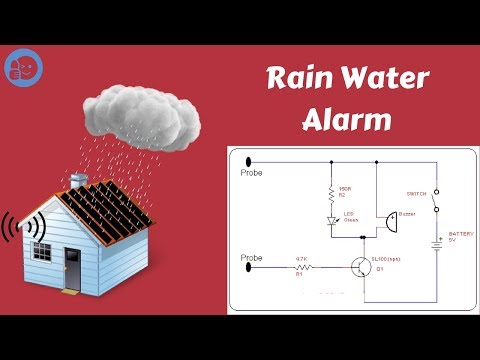 How to Make a Rain water alarm. || Science Project  ▶️
