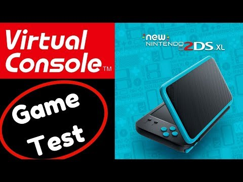 2DS XL Virtual Console Gameplay Test