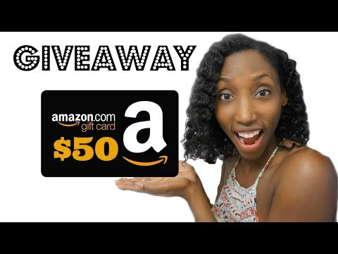 Amazon Gift Card Giveaway Closed