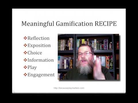 A RECIPE for Meaningful Gamification