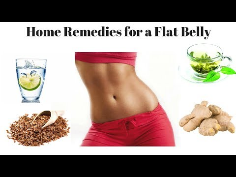 Home Remedies for a Flat Belly | Get Flat Stomach without Diet-Exercise