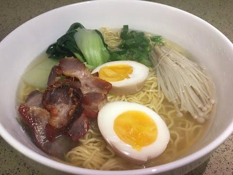 How to make ramen noodle soup