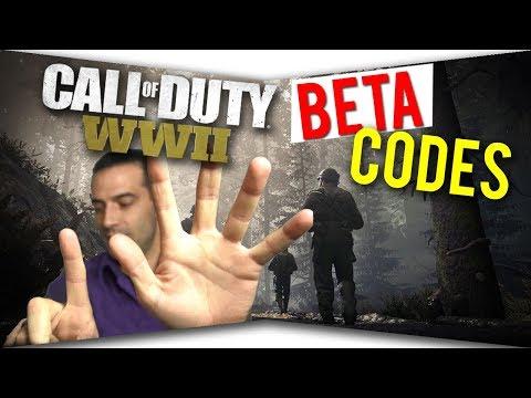 WW2 Beta Codes FREE