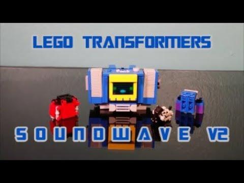 Lego Transformers Soundwave V2 By BX Brix