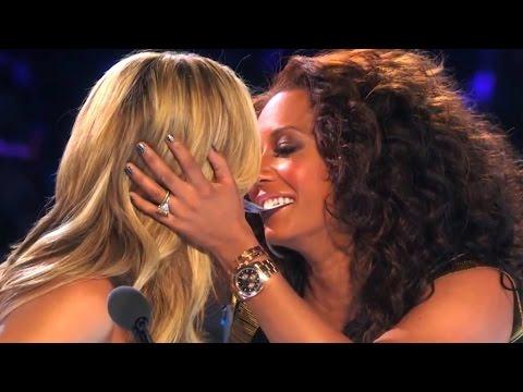 Xxx Mp4 America 39 S Got Talent Finals YOUNG MAGICIAN GETS HEIDI Amp MEL B TO KISS Collins Key 3gp Sex
