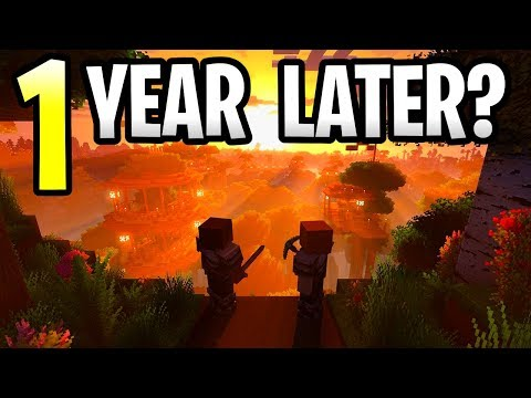 Minecraft Super Duper Graphics Pack 1 Year Later! Release Date & Discount? Xbox, PS4 & Switch