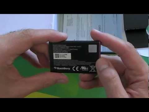 BlackBerry Curve 9220 Unboxing