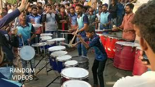 Deva shre Ganesha by Kingstar musical Beats at Devi chowkacha Raja Padya Pujan Sohala 2018 Dombivli