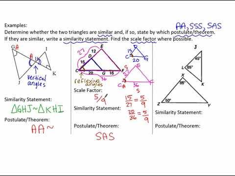 8.2b notes Similarity Theorems