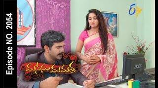 Manasu Mamata   22nd  August 2017  Full Episode No 2054   ETV Telugu