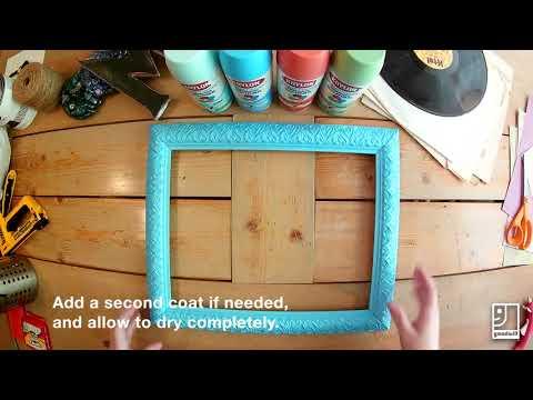 DIY Corkboard Frame