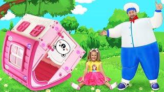 Sasha and Max sing Police song   Nursery Rhymes & Kids Songs