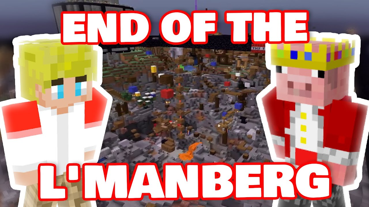 Last Battle Of The Country Named L'MANBERG! DREAM SMP