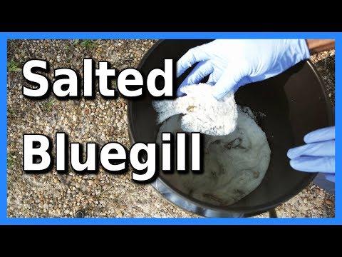 My Salted Bluegill Recipe | Catfish Bait Recipe