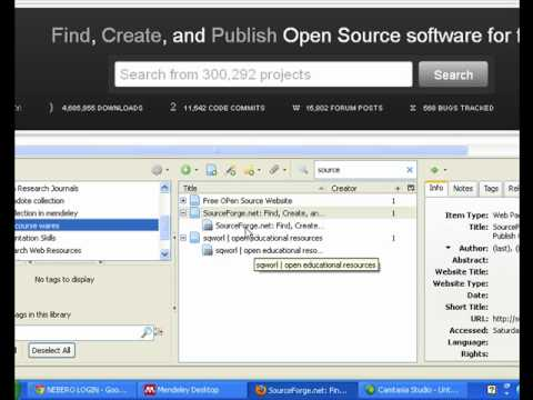 28. Save ur Bookmarks Online and Create Bibliography in Zotero.org