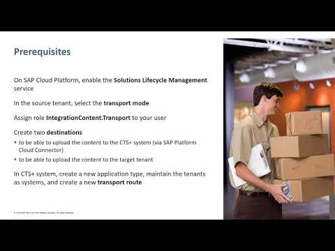 SAP Cloud Platform Integration:  Content transport using CTS+