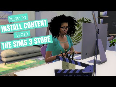 Install Store Content from The Sims 3 Store