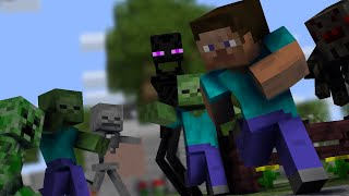 The Mobs Hunger Games - Minecraft animation