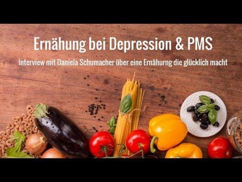 Wie ernährt man sich bei Depression & PMS?