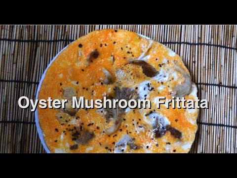 Healthy Low Carb Recipe - Oyster Mushroom Omelette