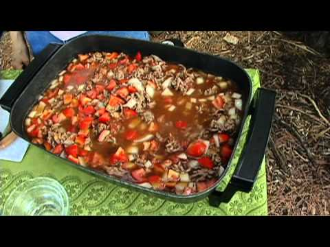 Ground Beef and Okra Stew