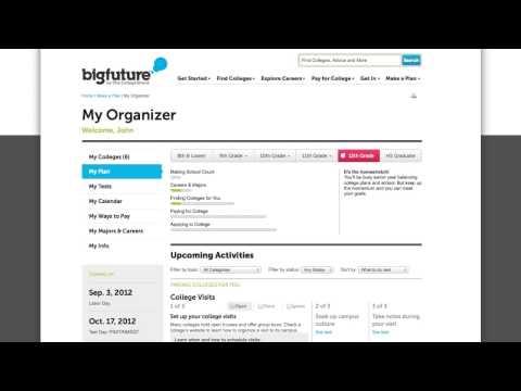 Staying Organized - My Organizer