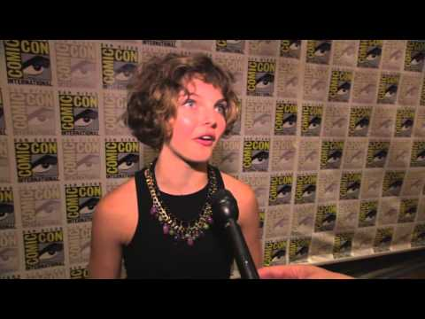 Gotham: Camren Bicondova at San Diego Comic-Con 2014