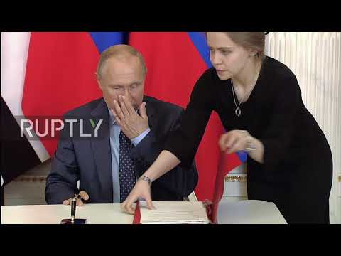 Russia: Putin and Abu Dhabi Crown Prince sign off strategic partnership