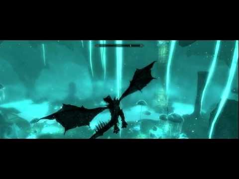 Skyrim:  Vulthuryol Battle as a Frost Dragon