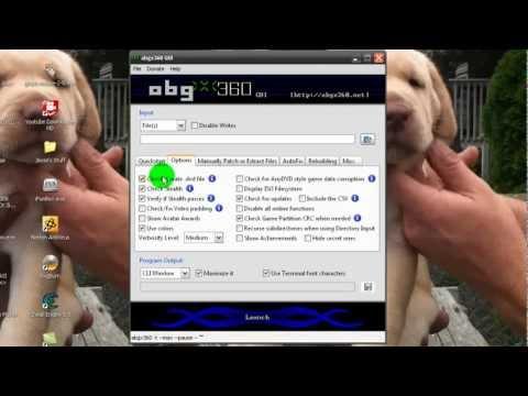 How to Burn XBOX 360 Games Properly With ABGX 360 GUI & ImgBurn