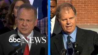 Trump records robocall for Moore in Senate race