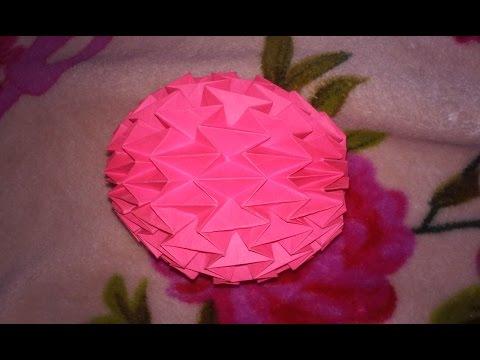 Origami Magic ball With Printer paper-Part 1