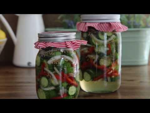 How to Make Refrigerator Pickles | Pickle Recipe | Allrecipes.com