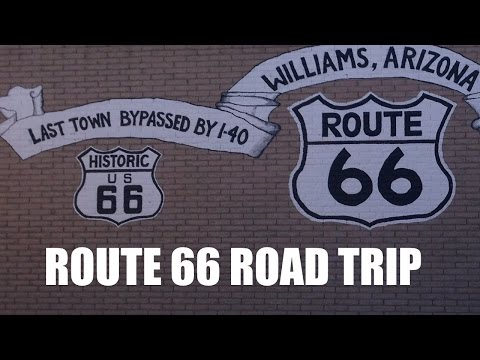 Driving Historic Route 66
