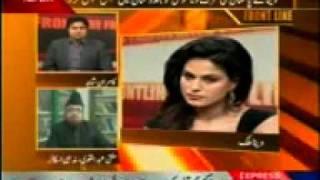 Veena Malik in Frontline With Kamran Shahid 21st January - Pakfiles com