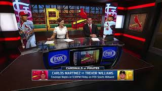 Cardinals-Pirates preview August 18, 2017