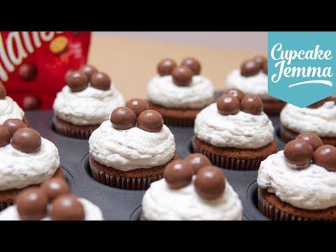 Malteser Cupcake Recipe | Cupcake Jemma