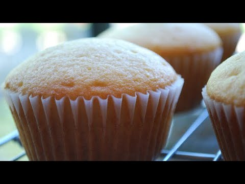 How to make vanilla Cup cakes recipe, Tutorial