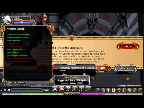AQW Getting Ungodly Reavers of Nulgath