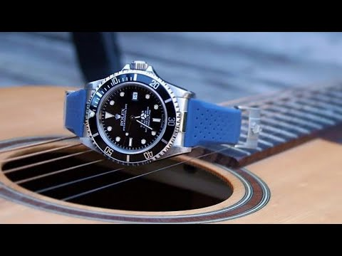 How excellent is the anti-stain feature of the OfficialTime rubber strap?